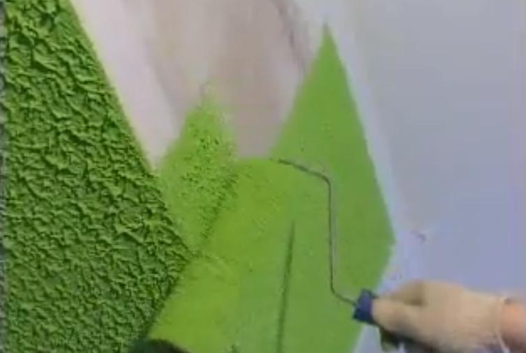 Шпаклевка стен под обои валиком своими руками видео